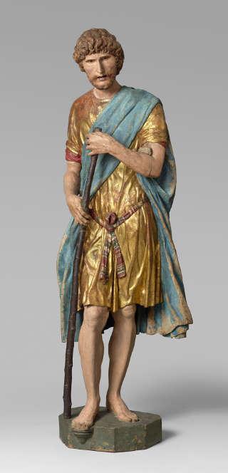 Francesco di Giorgio Martini, Hl. Christopherus (Paris, Musée du Louvre D- des Sculptures Musee du Louvre dist RMN- Grand Palais Herve Lewandowski)