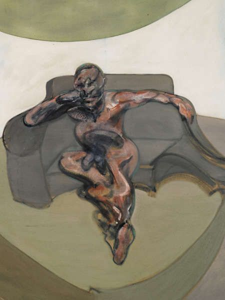 Francis Bacon, Porträt, 1962, Öl/Lw, 198 x 141,5 cm (Museum für Gegenwartskunst Siegen. The Lambrecht-Schadeberg Collection / Winners of the Rubens Prize of the City of Siegen © The Estate of Francis Bacon. All rights reserved. DACS, London)