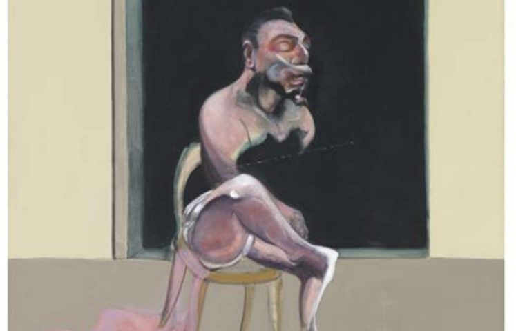 Francis Bacon, Triptych August 1972, Detail (Tate Modern, London)