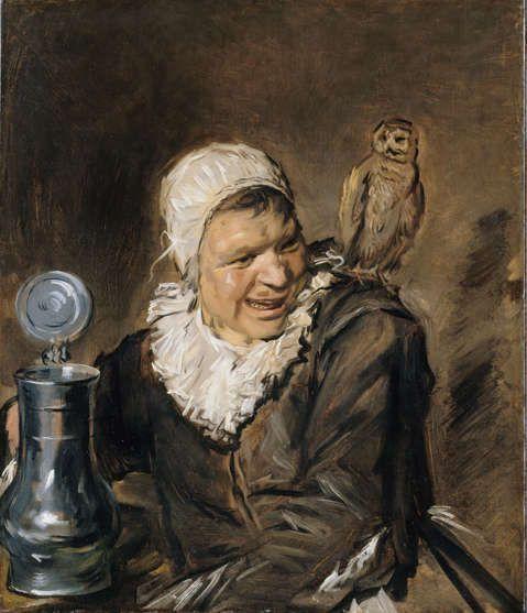 Frans Hals, Malle Babbe, 1633–1635, Öl/Lw, 75 x 64 cm (Gemäldegalerie Berlin, SMB, Foto: Jörg P. Anders)