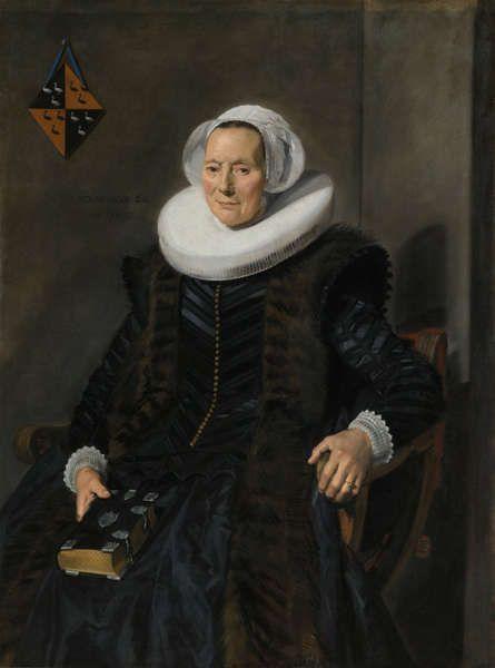 Frans Hals, Porträt Maritge Claesdr. Vooght, 1639, Öl/Lw, 128 x 94,5 cm (Rijksmuseum Amsterdam, Leihgabe der Stadt Amsterdam)