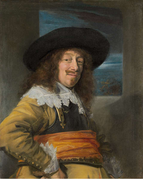 Frans Hals, Porträt eines Mannes (Jan Jansz Soop?), um 1635/36, Öl/Lw, 86 x 69 cm (National Gallery of Art, Andrew W. Mellon Collection, Washington)
