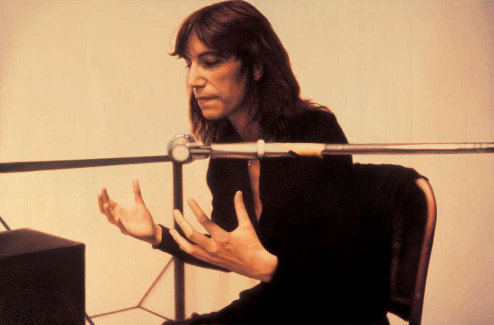 Franz Gertsch, Patti Smith V, 1979 (Staatsgalerie Stuttgart © Franz Gertsch, Foto: Dominique Uldry, Bern)