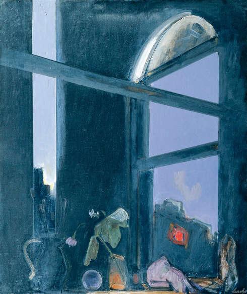 Franz Lerch, Atelierfenster, um 1948 (Belvedere, Wien)