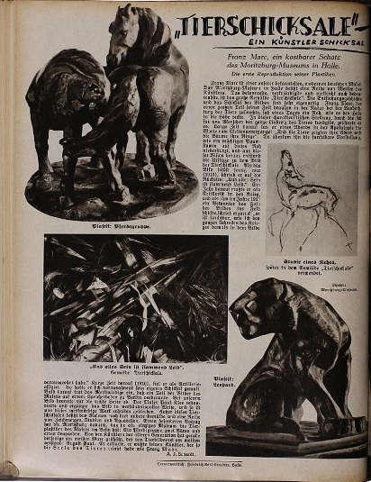 Illustrierte Hallische Nachrichten, Nr. 2 (10.1.1931), Foto: Stadtarchiv Halle (Saale)