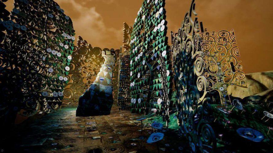 Frederick Baker, Klimt's Magic Garden, Still aus dem Director's Cut zu Klimt's Magic Garden: A Virtual Reality Experience by Frederick Baker, 2018 © Frederick Baker