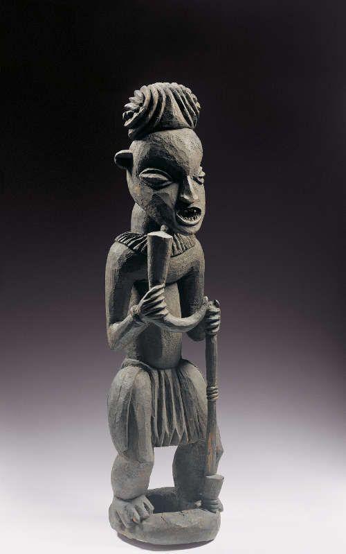 Gedenkfigur des Königs Fosia, Ateu Atsa, Kamerun, Bangwa, 19. Jh., Holz, Staatliche Museen zu Berlin, Ethnologisches Museum, © SMB, Ethnologisches Museum, Claudia Obrocki