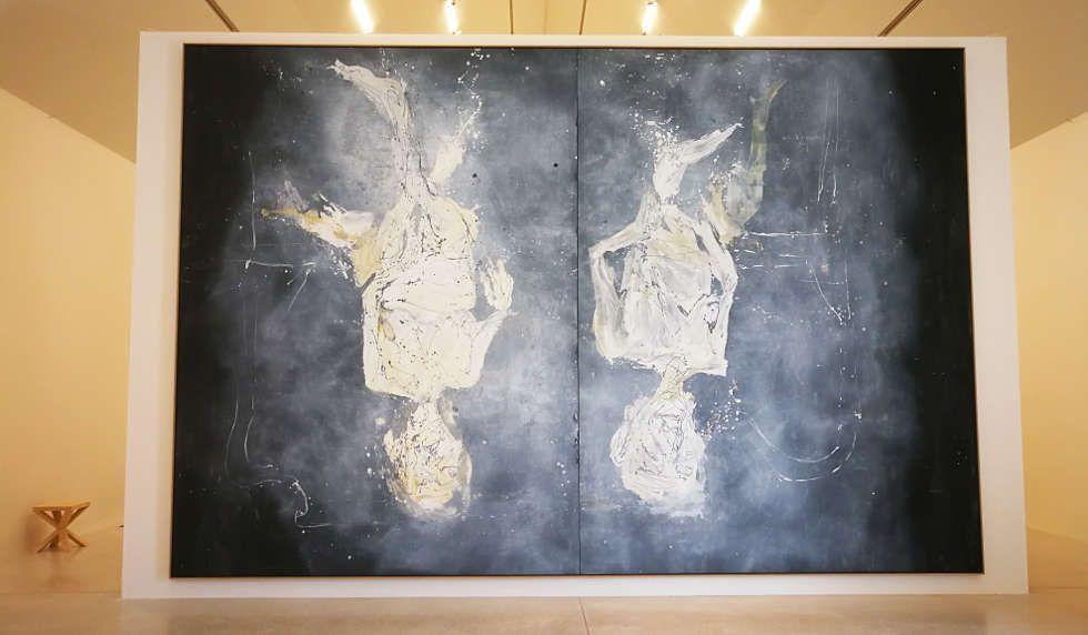 Georg Baselitz, Dystopische Glocken, 2015, in Musee Unterlinden 2018, Foto: (c) Alexandra Matzner, ARTinWORDS