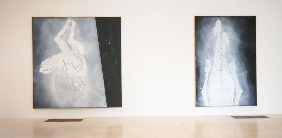 Georg Baselitz, Finestra di Venezia - Cardinale Archinto und Der Kardinal hinter dem Vorhang, 2015, Foto: (c) Alexandra Matzner, ARTinWORDS