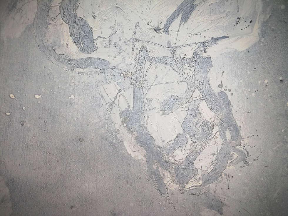 Georg Baselitz, Finestra di Venezia, Detail, 2015, Foto: (c) Alexandra Matzner, ARTinWORDS
