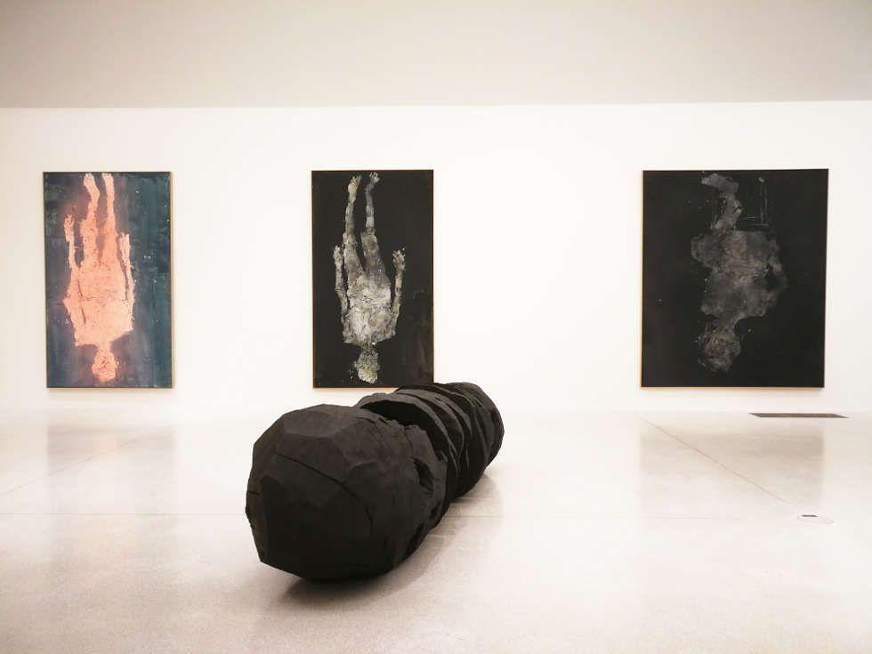 Georg Baselitz im Musee Unterlinden, Colmar, Foto: (c) Alexandra Matzner, ARTinWORDS