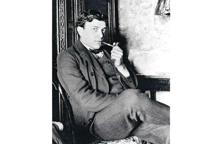 Porträt Georges Braque, anonymer Fotograf, um 1906–1907, Silbergelatine Abzug, Archives Quentin Laurens