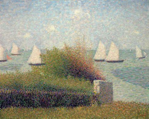 Georges Seurat, Grandcamp, Sommer 1885