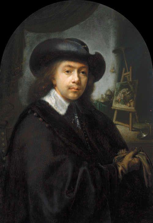 Gerard Dou, Selbstporträt, um 1645 (The Kremer Collection www.thekremercollection.com © The Kremer Collection)
