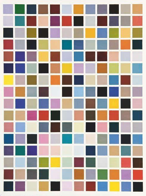 Gerhard Richter, 192 Farben, 1966 (Hamburger Kunsthalle, Sammlung Gerhard und Elisabeth Sohst, © Gerhard Richter 2018 (29062018)