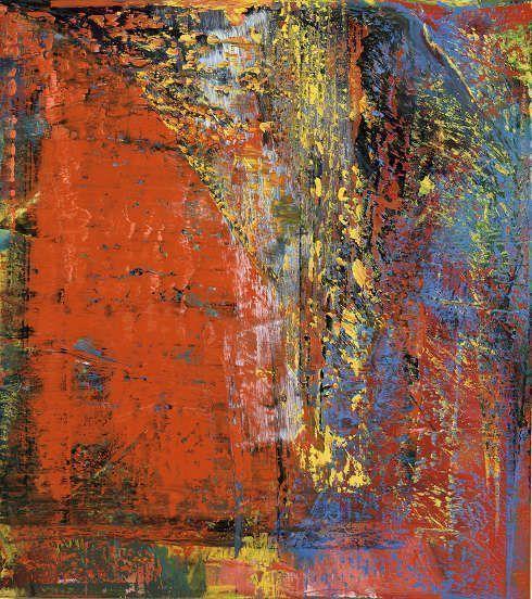 Gerhard Richter, A B, Still, 1986, Öl/Lw, 225 x 200 cm (Museum Barberini © Gerhard Richter 2018 (29062018)