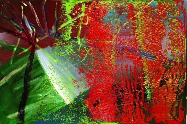 Gerhard Richter, Abstraktes Bild 559-1, 1984, Öl auf Leinwand 200 x 300 cm (Kunstsammlung der Hypo Vereinsbank- Member of UniCredit) Courtesy Richter Images © Gerhard Richter 2017 (0131)