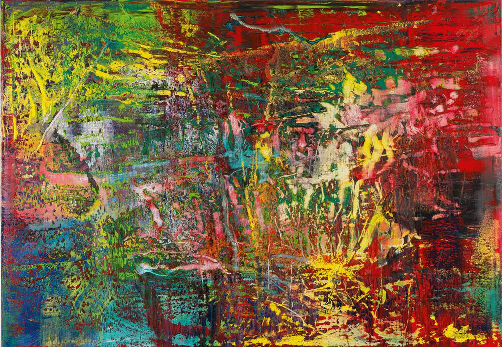 Gerhard Richter, Abstraktes Bild (946-3), 2016, Öl auf Leinwand, 175 x 250 cm © Gerhard Richter 2017 (221116)