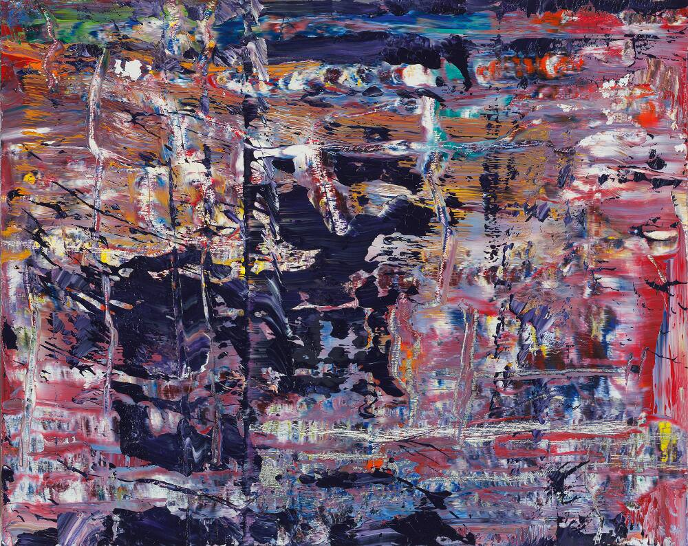 Gerhard Richter, Abstraktes Bild (947-2), 2016, Öl auf Holz, 40 x 50 cm © Gerhard Richter 2017 (221116)