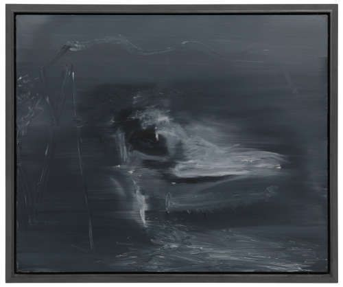 Gerhard Richter, Frau in Hollywoodschaukel 196-3, 1968, Öl auf Leinwand, 95 x 115 cm (ACT Art Collection Siggi Loch) Courtesy Richter Images © Gerhard Richter 2017 (0131)