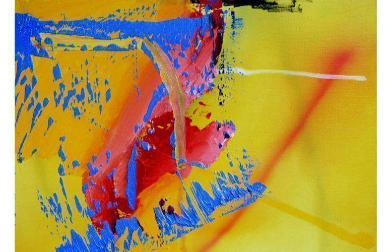 Gerhard Richter, Mozart, 1981, Öl/Lw, 50 cm x 70 cm (© Gerhard Richter 2020 (01852020), WVZ-Nr. 472-1)