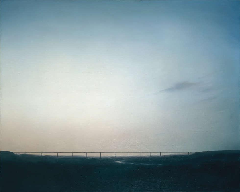 Gerhard Richter, Ruhrtalbrücke, 1969, Öl auf Leinwand, 120 x 150 cm, GR 228 (Private Collection. Courtesy Hauser & Wirth Collection Services © Gerhard Richter)
