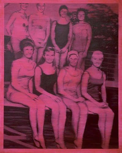 Gerhard Richter, Schwimmerinnen, 1965, Öl/Lw, 200 x 160 cm (Sammlung Froehlich, Stuttgart, © Gerhard Richter 2018 (26022018))