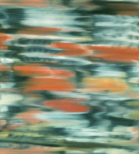 Gerhard Richter, Stadtbild PX, 1968, Öl auf Leinwand, 101,8 x 91,3 cm (Wittelsbacher Ausgleichsfonds -Sammlung Prinz Franz von Bayern, Foto: Blauel/Gnamm/ARTOTHEK, © Gerhard Richter)