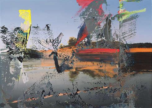 Gerhard Richter, Venedig, 1986, Öl auf Leinwand, 86 x 121 cm, GR 606-3 (Museum Frieder Burda, Baden-Baden © Gerhard Richter)