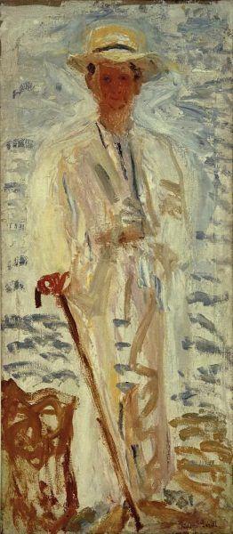 Richard Gerstl, Bildnis Alexander von Zemlinsky, Juli 1908, Öl auf Leinwand, 170,5 x 74,3 cm (Kunsthaus Zug, Stiftung Sammlung Kamm, Foto: Kunsthaus Zug / Alfred Frommenwiler)