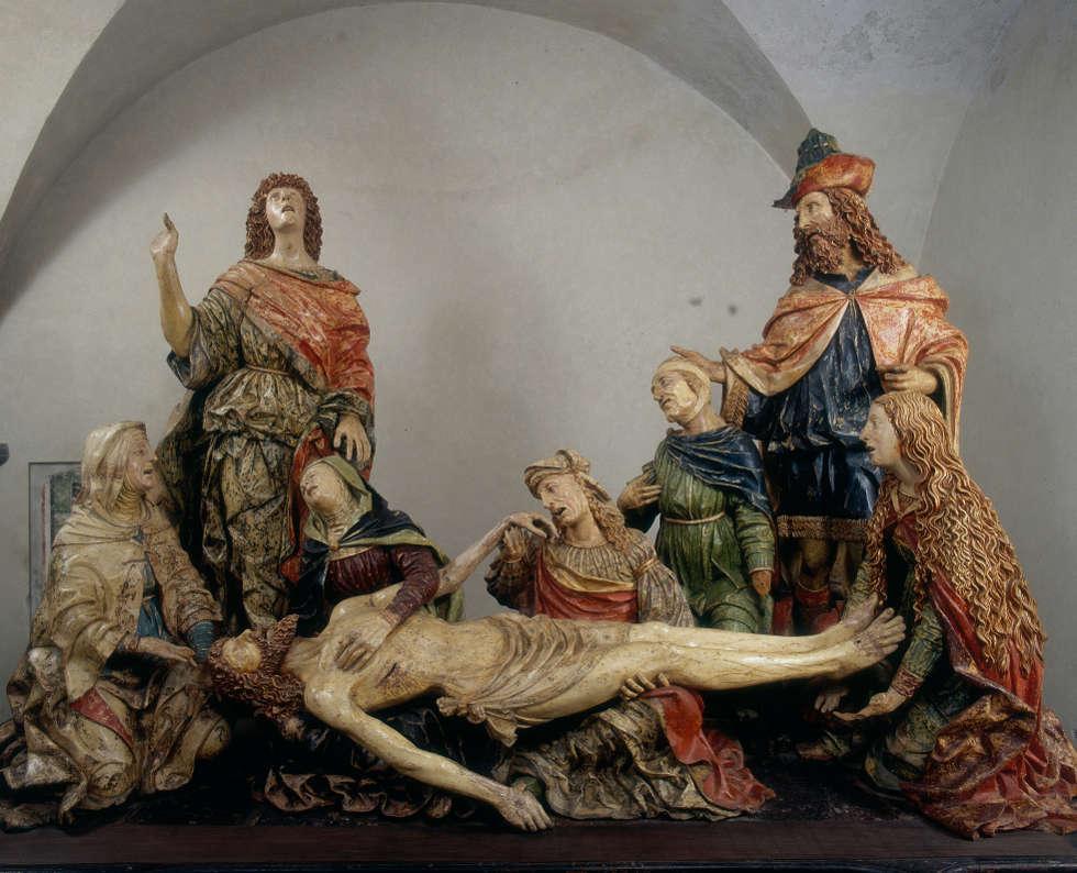 Giovanni Angelo Del Maino, Beweingung Christi, um 1515–1520 (Bellano Archives Alinari Florence- Dist RMN Grand Palais Luciano Pedicini)