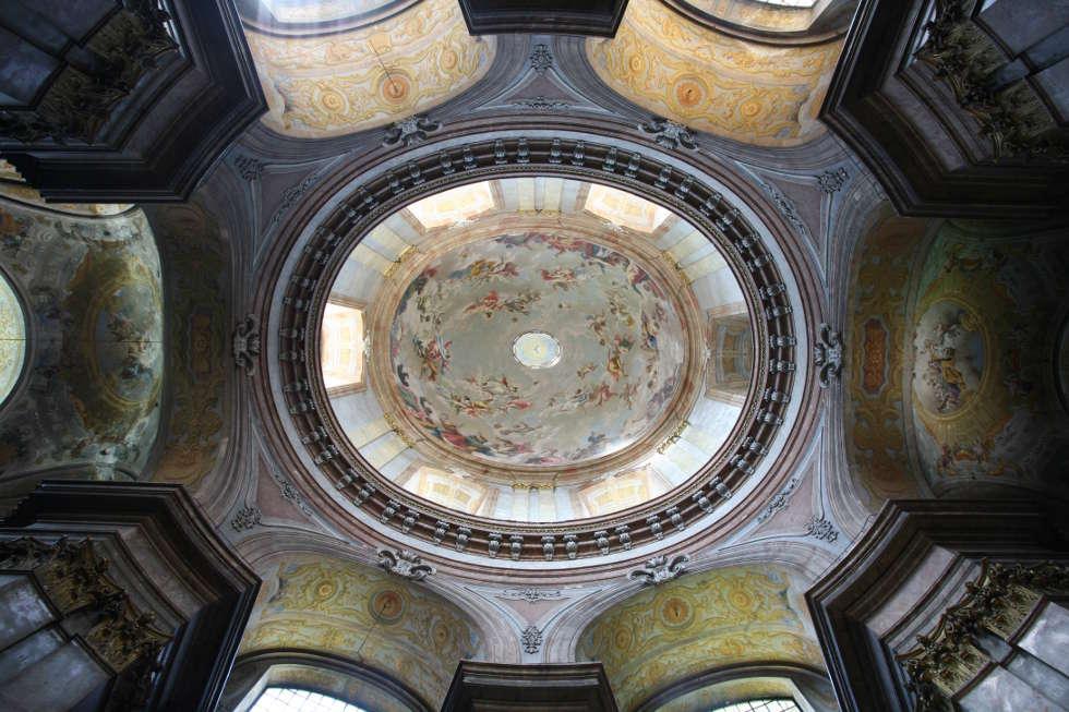 Giovanni Antonio Pellegrini, Salesianerinnenkirche, Wien, Kuppelaufblick