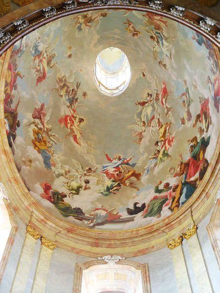 Giovanni Antonio Pellegrini, Dreifaltigkeit und Maria (Salesianerinnenkirche Wien)