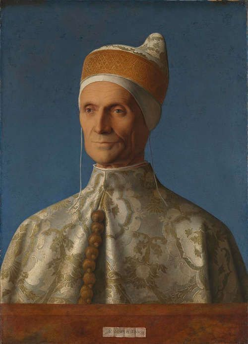Giovanni Bellini, Doge Leonardo Loredan, 1501–1502, Öl/Pappel, 61.6 x 45.1 cm (© The National Gallery, London)