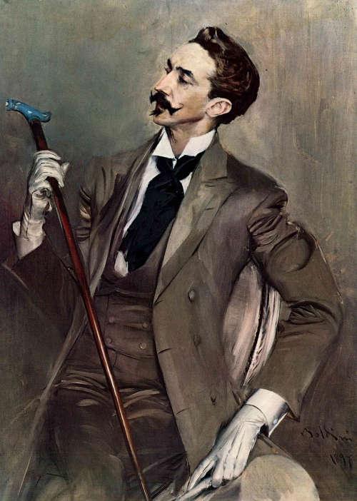 Giovanni Boldini, Le Comte Robert de Montesquiou, 1897
