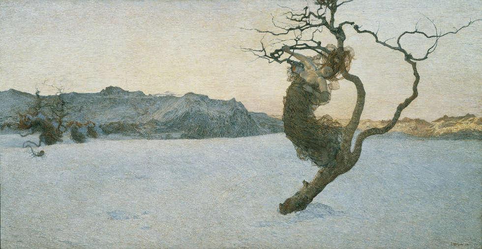 Giovanni Segantini, Die bösen Mütter, 1894 (Belvedere, Wien)
