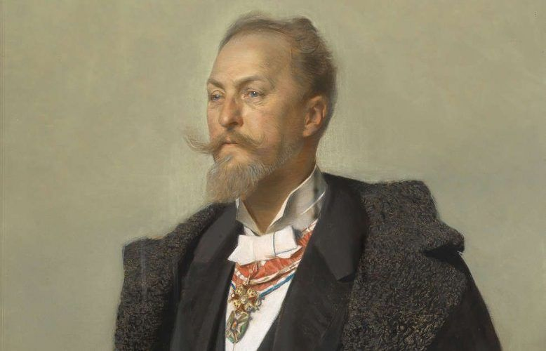 Gottlieb Theodor Kempf von Hartenkampf, Porträt Otto Wagner, 1896 © Wien Museum