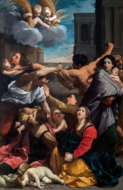 Guido Reni, Bethlehemitischer Kindermord, 1611, Leinwand, 268 × 170 cm (Bologna, Pinacoteca Nazionale © Polo Museale dell'Emilia-Romagna)