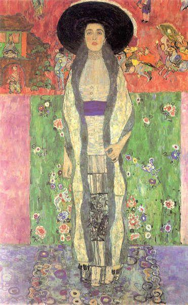 Gustav Klimt, Adele Bloch-Bauer II, 1912, Öl/Lw, 190 x 120 cm (Privat)