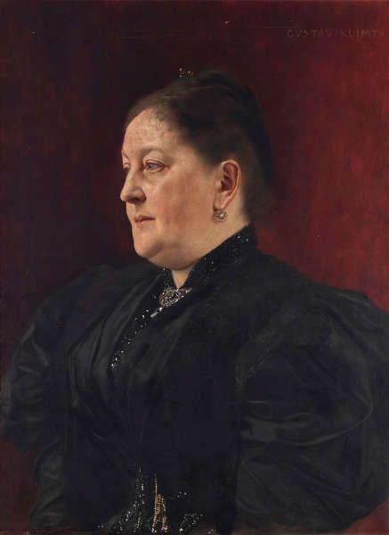 Gustav Klimt, Bildnis der Mathilde Trau, um 1893 (Belvedere, Wien)