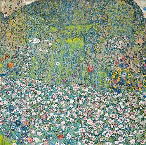 Gustav Klimt, Gartenlandschaft mit Bergkuppe, 1916 (© Kunsthaus Zug, Stiftung Sammlung Kamm / Foto: Kunsthaus Zug/Alfred Frommenwiler)