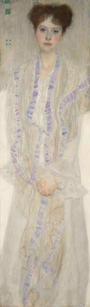 Gustav Klimt, Gertrud Loew, 1902, Öl/Lw, 50 x 45,5 cm (Privatbesitz)