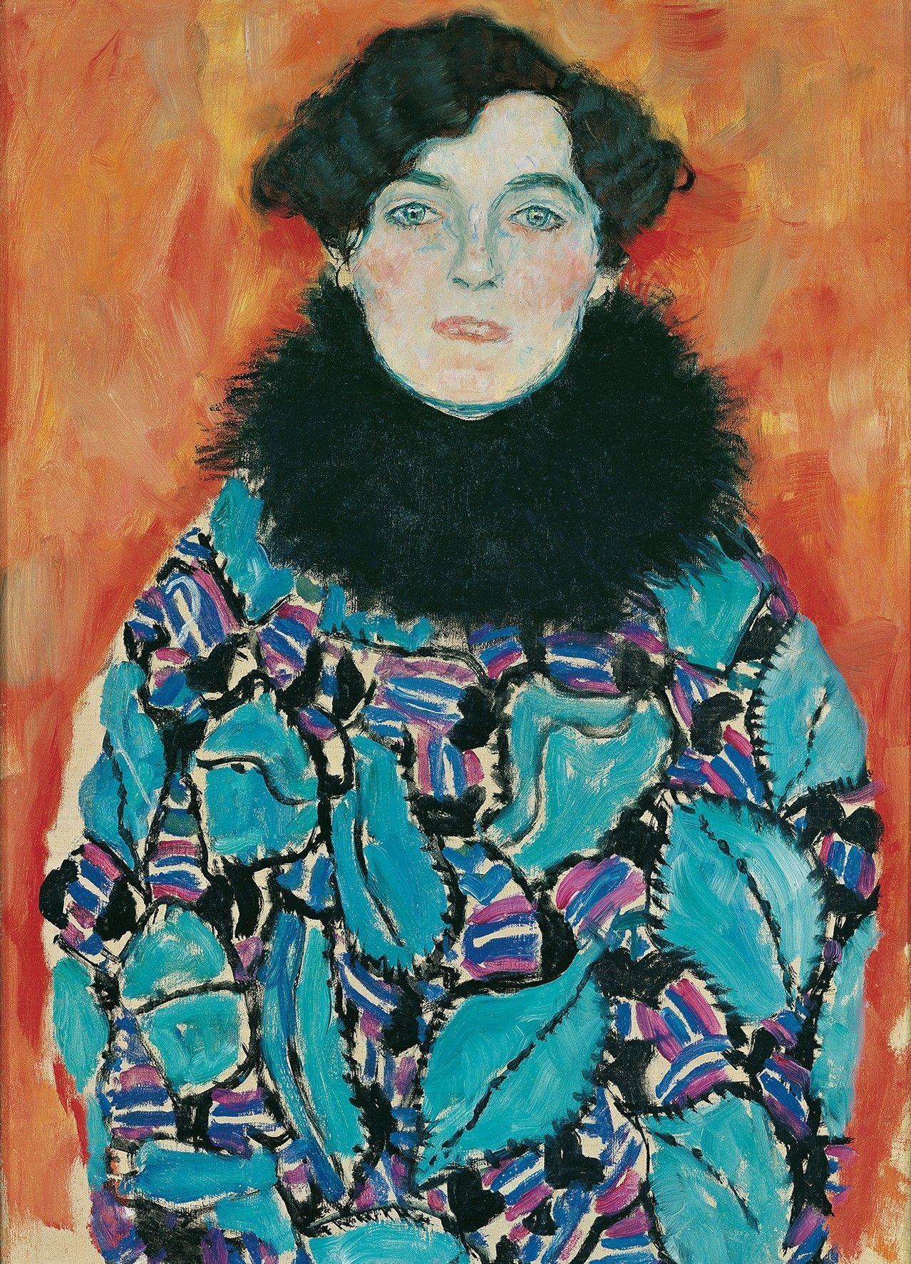 Gustav Klimt, Johanna Staude, 1918 (unvollendet) (© Belvedere, Wien)