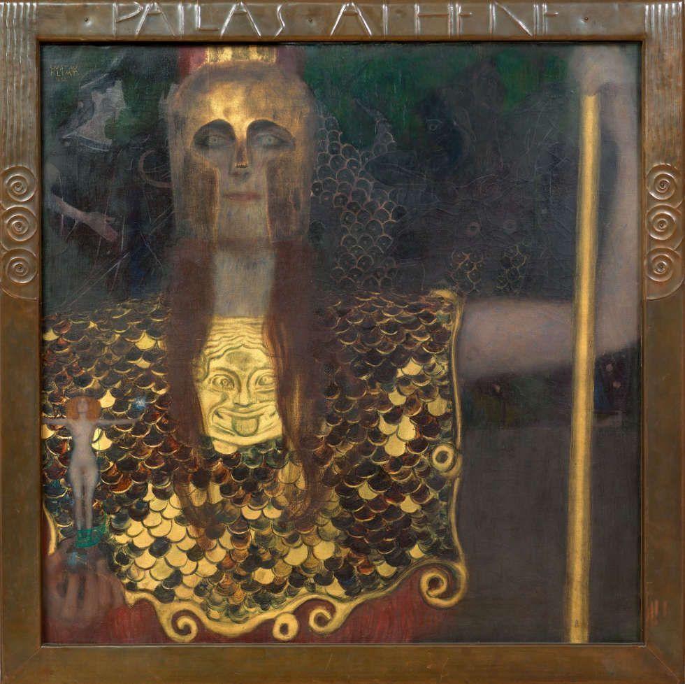 Gustav Klimt, Pallas Athene, 1898, Öl auf Leinwand (© Wien Museum)