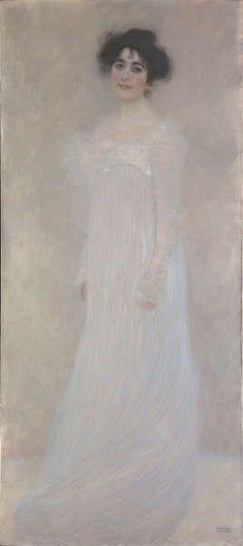 Gustav Klimt, Serena Lederer, 1899, Öl/Lw, 188 x 83 cm (Metropolitan Museum of Art, New York)