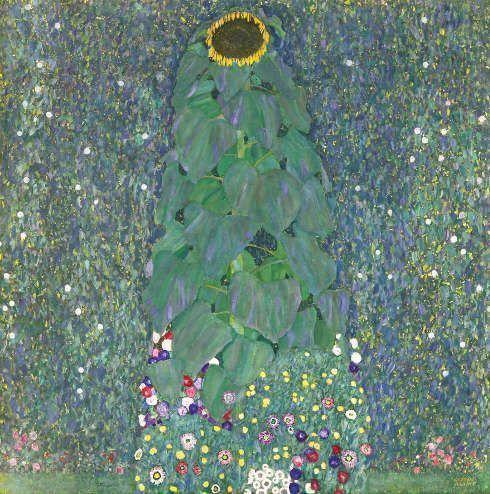 Gustav Klimt, Sonnenblume © Belvedere, Wien