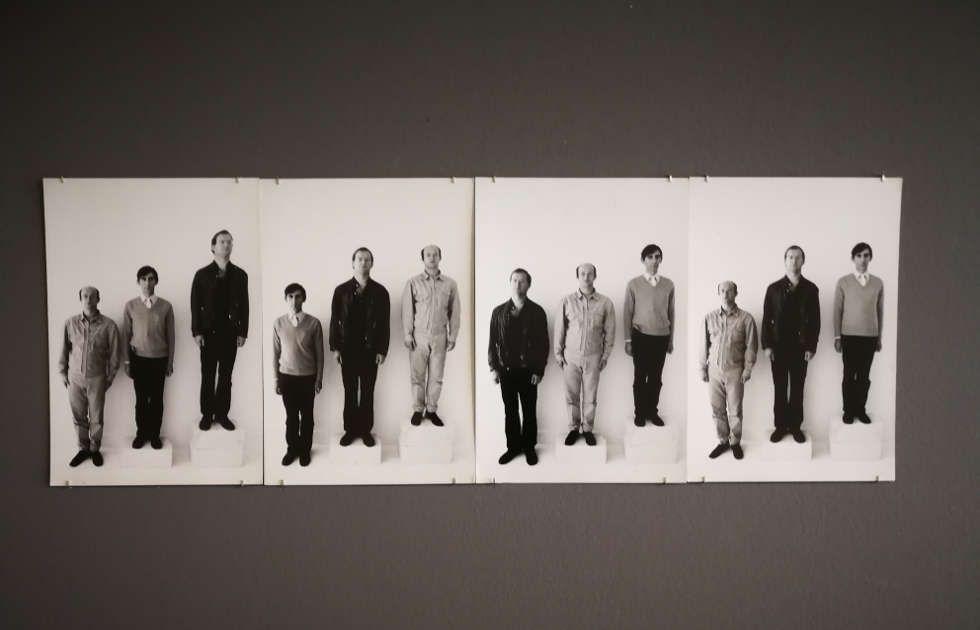 Guy Mees, Portretten (Niveauverschille), frühe 1970er Jahre, Foto: Alexandra Matzner, ARTinWORDS