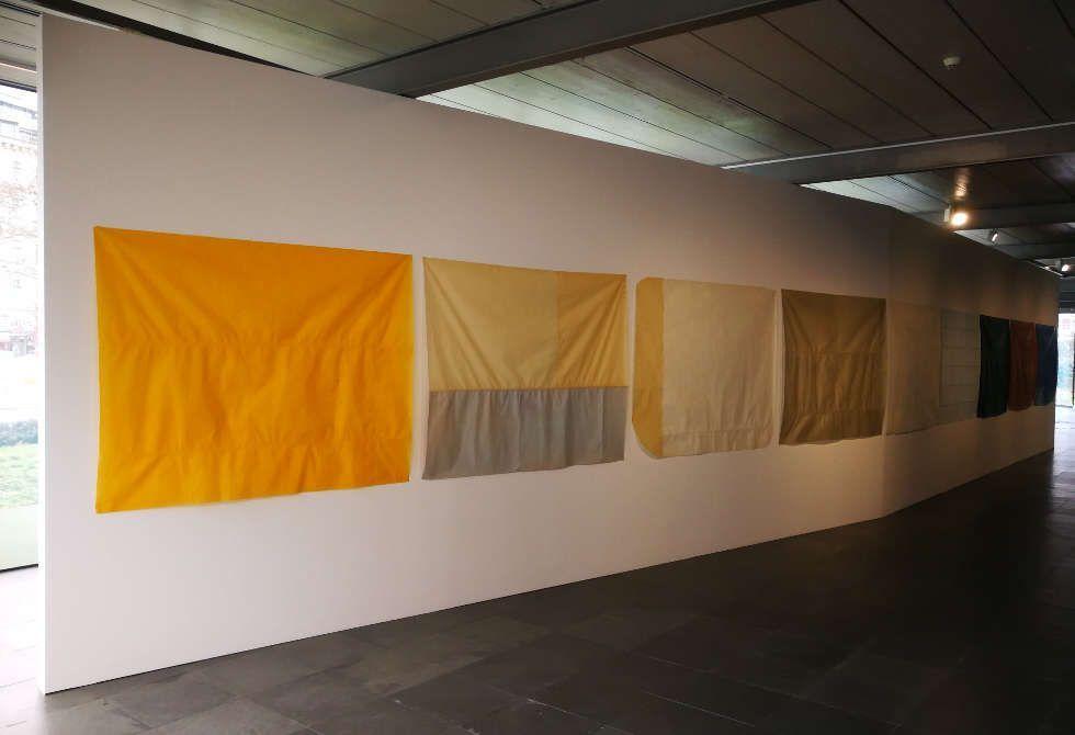 Guy Mees. Das Wetter ist ruhig, kühl und mild, Kunsthalle Wien 2018, Untitled, 1972–1975; Herfst (Fall), 1974; Voorjaarsmorgen (Spring Morning), 1976–1978, Courtesy Estate of Guy Mees, Foto: Alexandra Matzner, ARTinWORDS