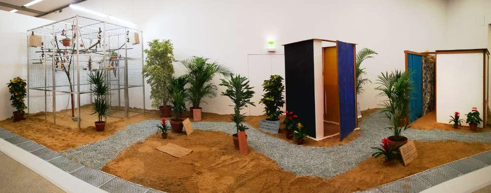 Hélio Oiticica, Tropicália, Ausstellungsansicht mumok, Foto: Alexandra Matzner, ARTinWORDS.