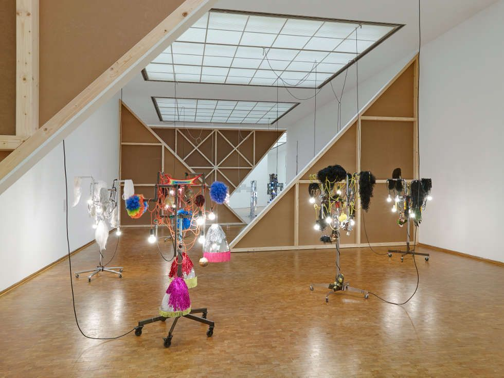 Installationsansicht Haegue Yang: ETA 1994–2018. Wolfgang-Hahn-Preis 2018 Museum Ludwig, Köln, 2018, © Haegue Yang, Foto: Saša Fuis, Köln